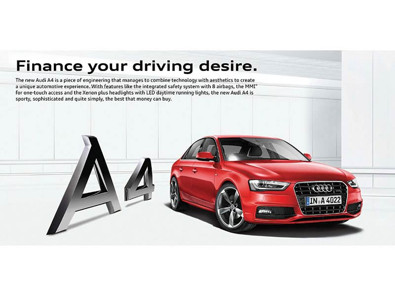 Audi A4 ad - Collateral creative advertising agency