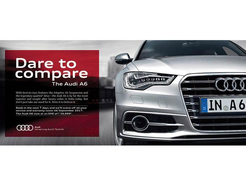 Audi print ad - creative ad agency