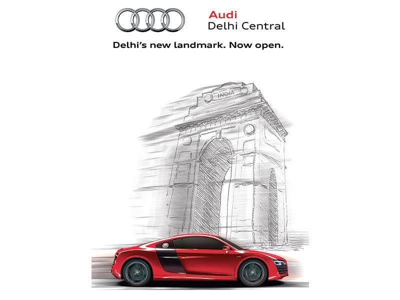 Audi event invite - Collateral creative ad agency