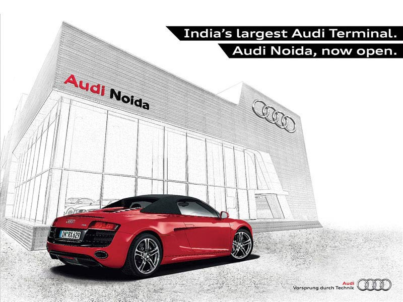 Audi Dealer ad - Collateral creative ad agency