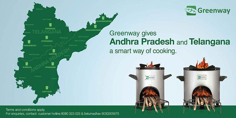 Greenway banner creative by collateral ad agency mumbai