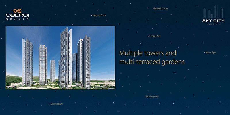 Oberoi Realty branding activity by collateral ad agency
